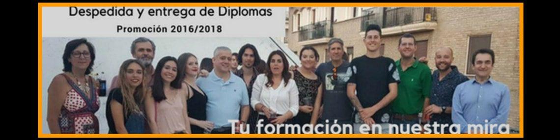 Despedida y entrega de diplomas